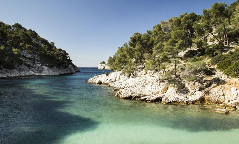 Marsiglia, Calanque de Port-Pin, veduta dalla spiaggia - Foto OTC Marseille