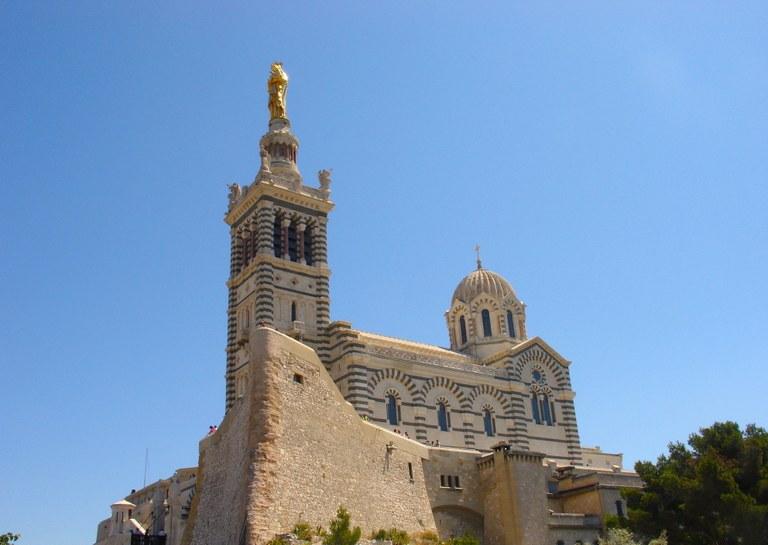 Marsiglia, Notre Dame de la Garde, esterno