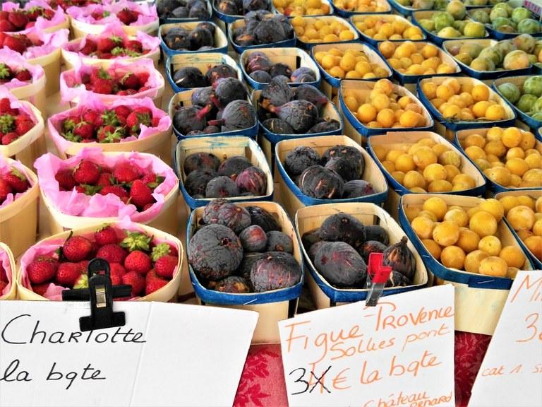 Mercato provenzale - Le primizie