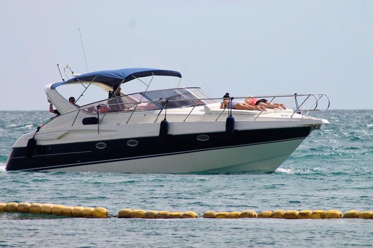 Momenti di relax in barca