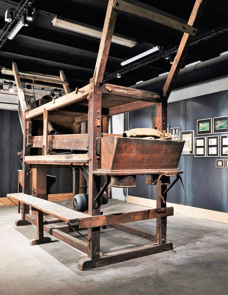 Musée du Savon de Marseille, antichi strumenti per la lavorazione del sapone di Marsiglia