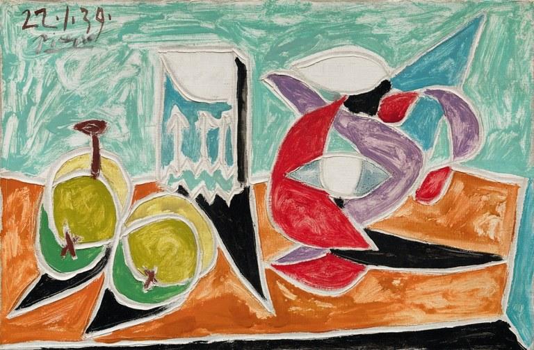 Nature morte, Pablo Picasso, Solomon R. Guggenheim Museum, New York © Succession Picasso 2018