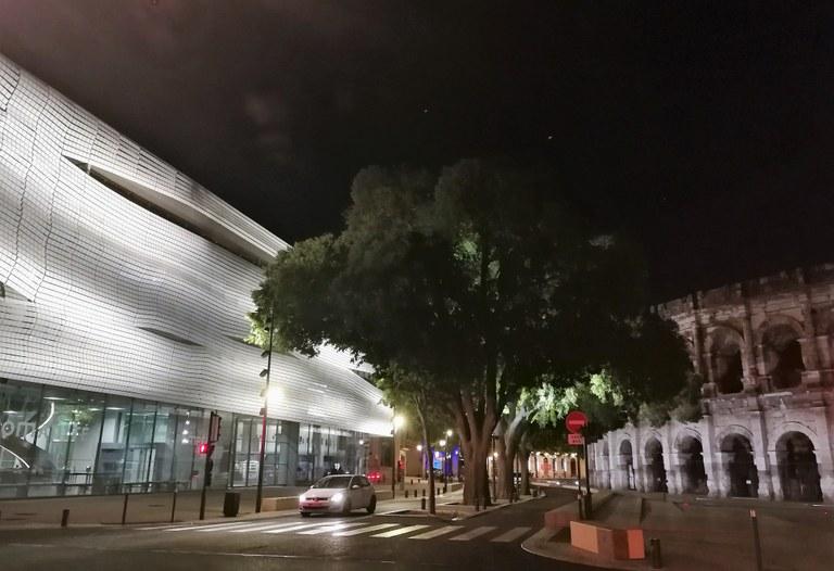 Nîmes, il Musée de la Romanité e l'arena