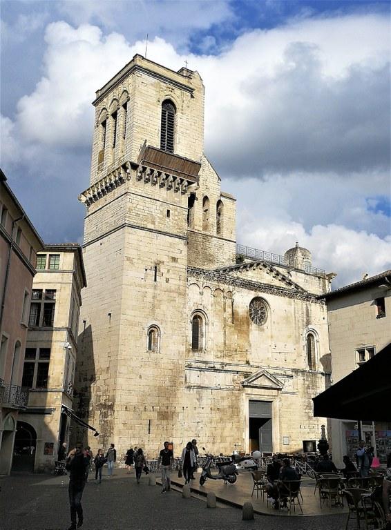 Nîmes, la cattedrale Notre-Dame-et-Saint-Castor