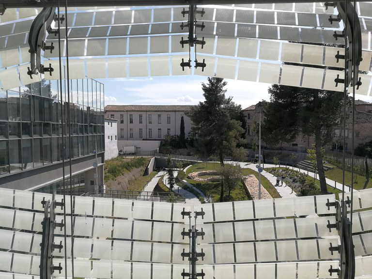 Nîmes, Musée de la Romanité, il giardino archeologico
