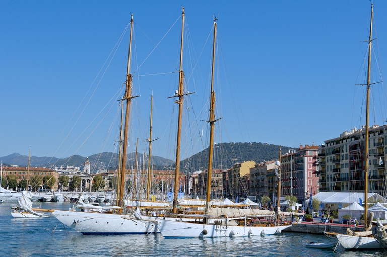 Nizza, barche agli ormeggi nel porto - Foto: © OTC Nice