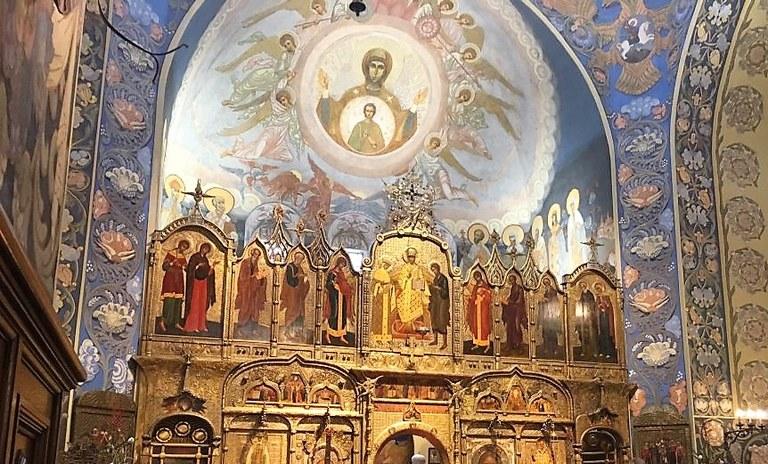 Nizza, cattedrale ortodossa di San Nicola, interno