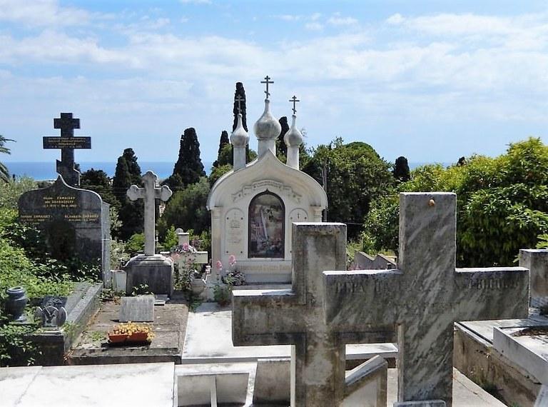 Nizza, il cimitero russo
