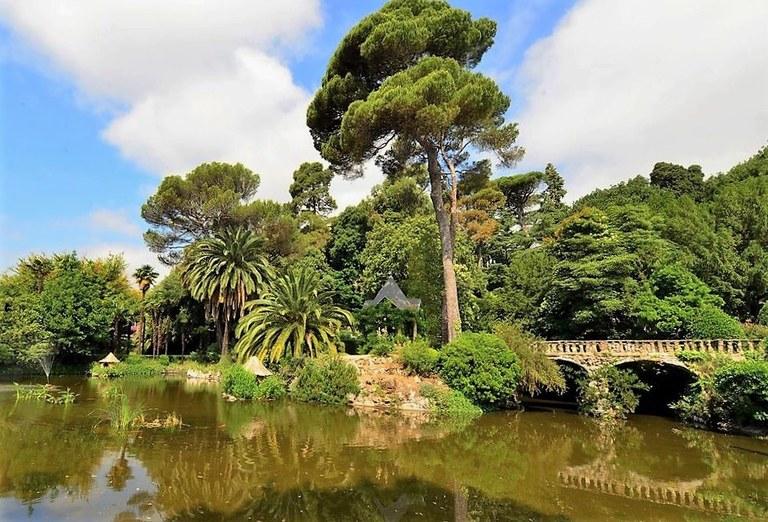 Nizza, il parco dello Château de Valrose