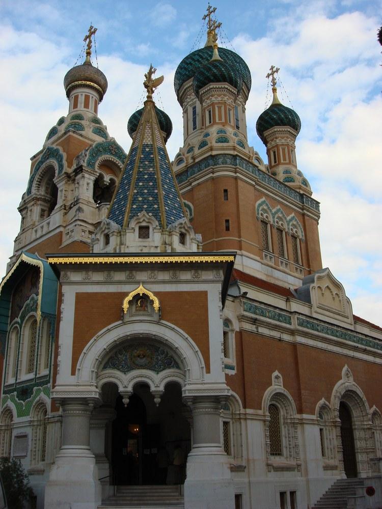 Nizza, la Cattedrale ortodossa russa di San Nicola