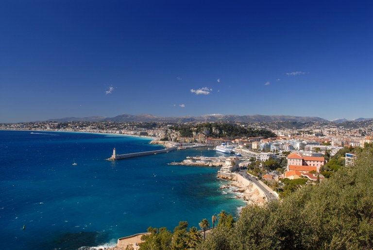 Nizza, panorama - Foto: © A. Issock, OTC Nice