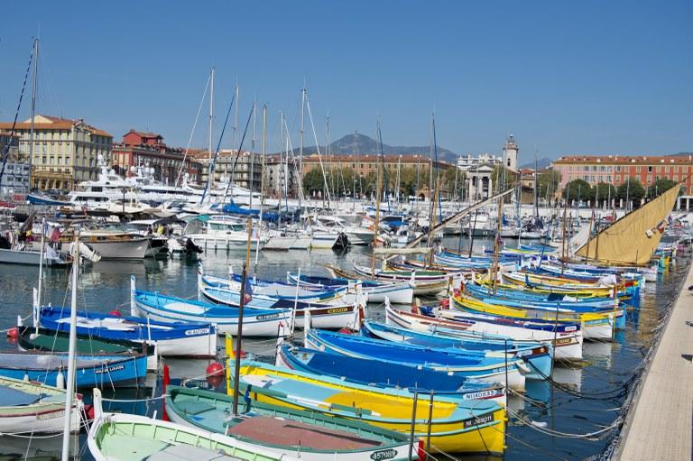 Nizza, il porto - Foto: © A. Issock, OTC Nice