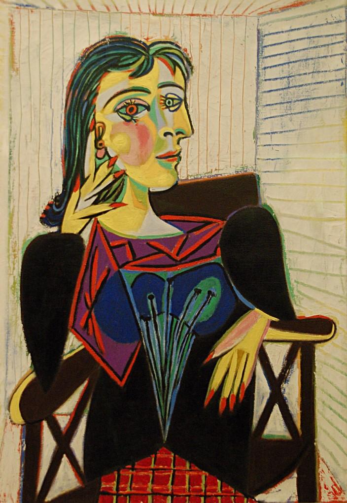 Pablo Picasso - Ritratto di Dora Maar - Foto: © Wikipedia