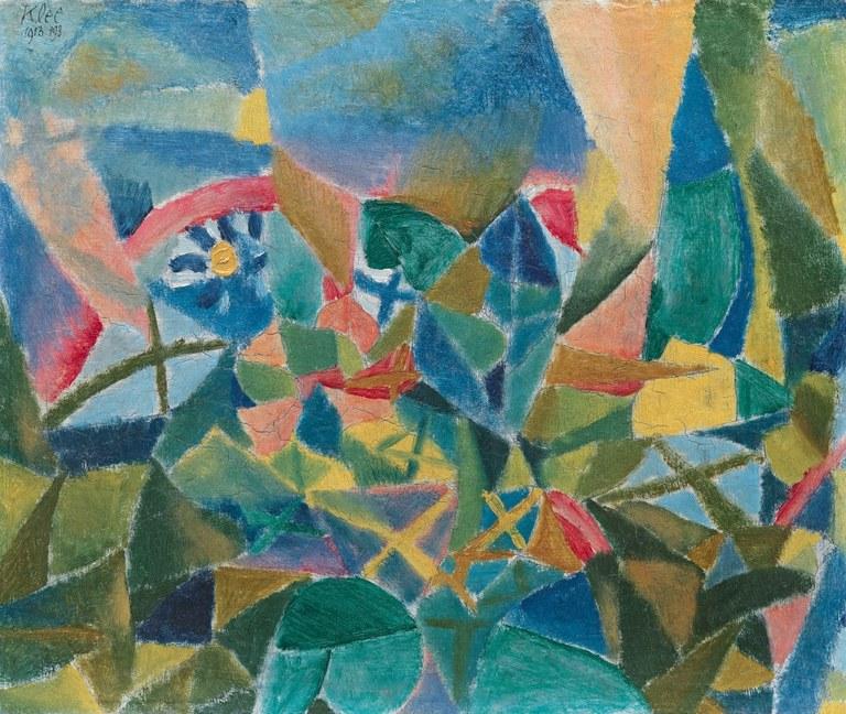 Parterre de fleurs, Paul Klee, Solomon R. Guggenheim Museum, New York