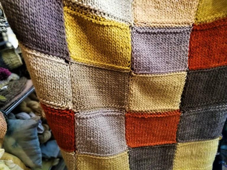 Pastellière d'un jour, la coperta multicolore