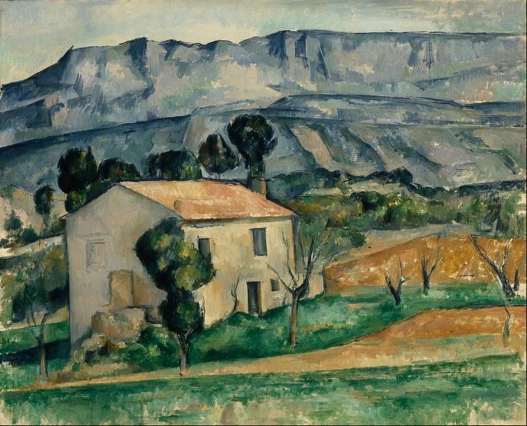 Paul Cézanne, House en Provence, olio su tela