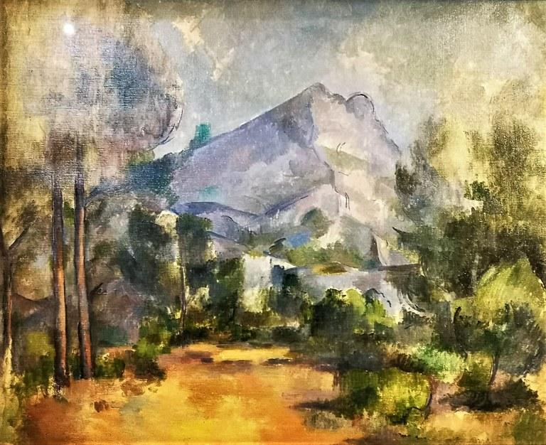Paul Cézanne, la Sainte-Victoire, Kunstmuseum, Berna