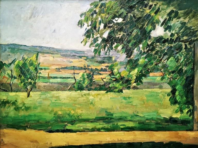 Paul Cézanne, la Sainte-Victoire, Musée d'Orsay, Parigi