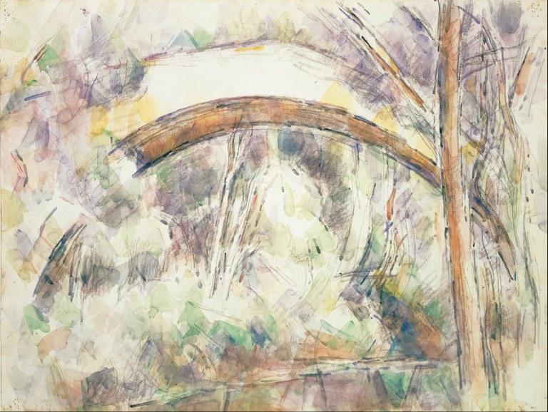 Paul Cezanne, Le Pont des Trois Sautets