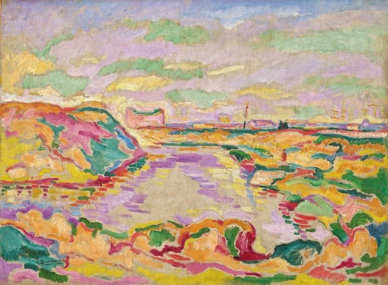 Paysage près d'Anvers, Georges Braque, Solomon R. Guggenheim Museum, New York © Adagp 2019