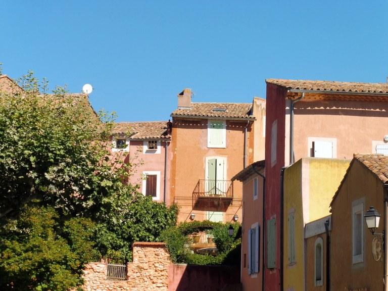 Per le strade di Roussillon