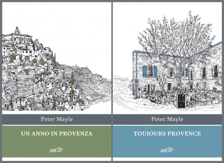 Peter Mayle, Un anno in Provenza e Toujours Provence