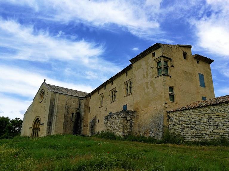Priorato di Salagon, il complesso architettonico