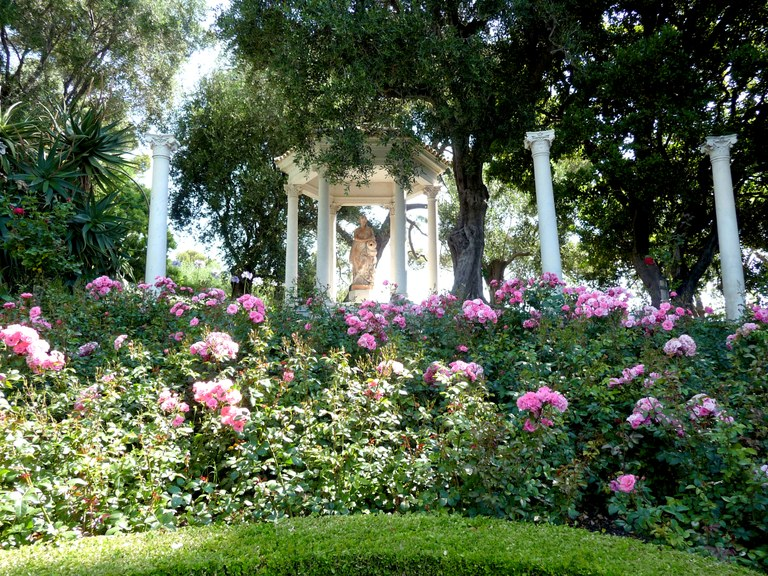 Saint-Jean-Cap-Ferrat, Villa Ephrussi de Rotschild, particolare del giardino