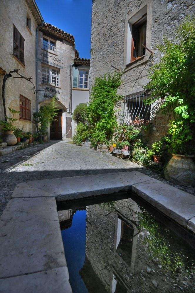 Saint-Paul de Vence, la piazzetta © Office de Tourisme de Saint-Paul de Vence - Photographe Elisabeth Rossolin