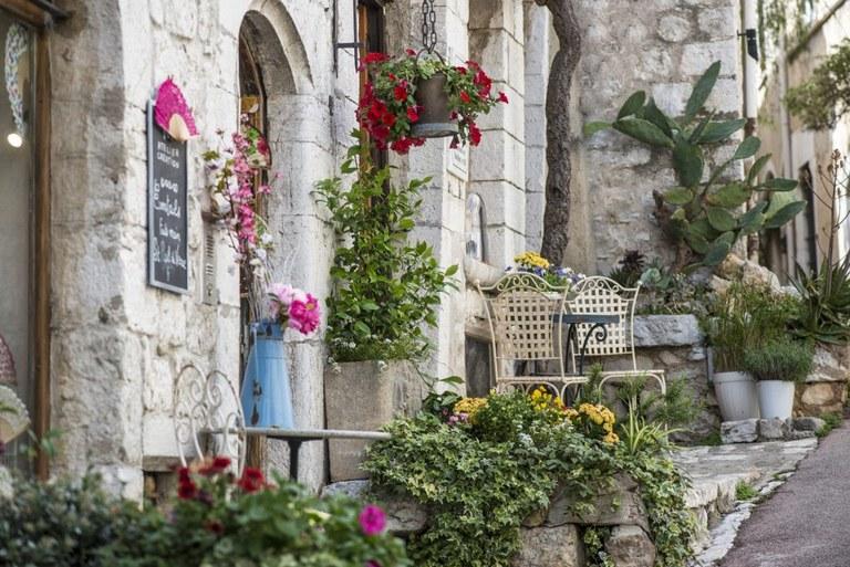 Saint-Paul de Vence, Rue Grande © Office de Tourisme de Saint-Paul de Vence - Photographe Elisabeth Rossolin