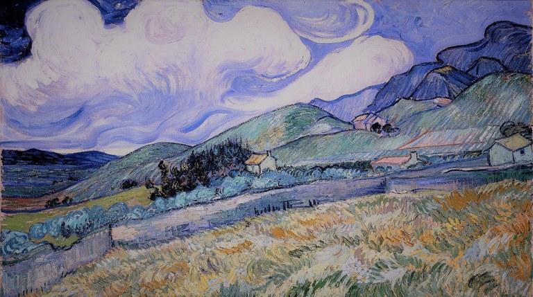 Sfumature Ultra Violet in un quadro di Vincent Van Gogh