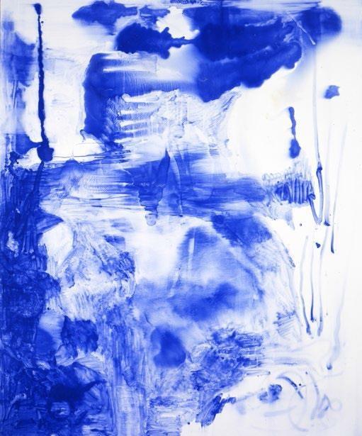 Sigmar Polke, Untitled  - Lapis Lazuli, 1998 © The Estate of Sigmar Polke, Cologne - Adagp, Paris, 2019