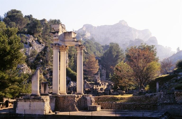 Sito archeologico di Glanum © P. Berthé, CMN