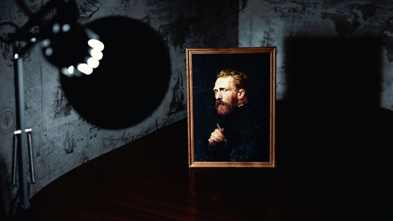 Un ritratto di Vincent Van Gogh