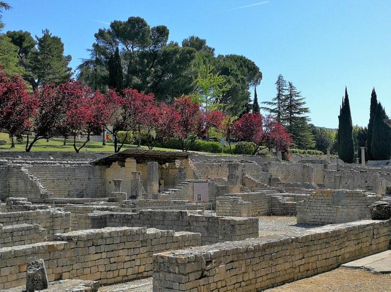 Vaison-la-Romaine, il sito archeologico di Puymin