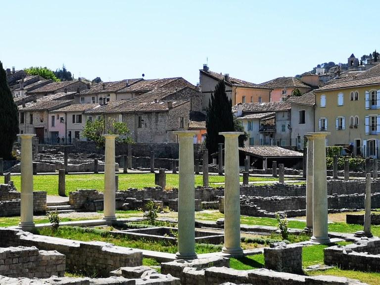 Vaison-la-Romaine, il sito archeologico La Villasse