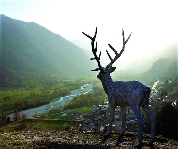 Viapac, Incursioni, di Paolo Grassino © Alpes-de-Haute-Provence Tourisme