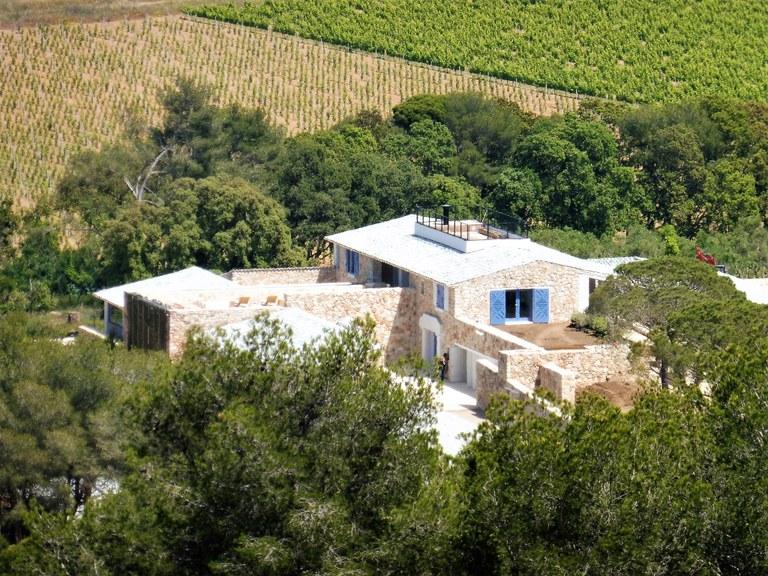 Villa Carmignac, la fattoria nel verde di Porquerolles