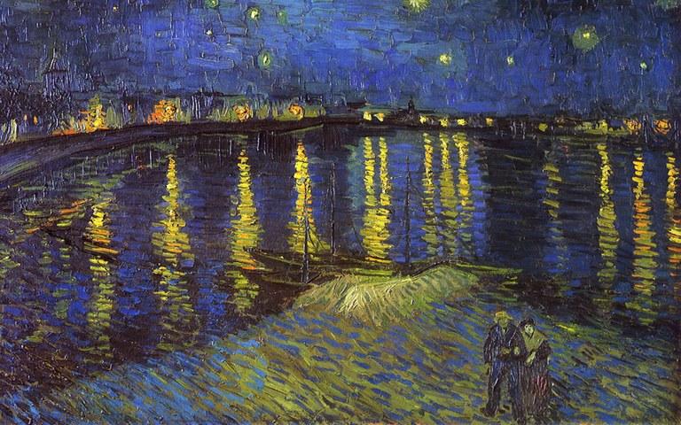 Vincent Van Gogh, la nuit étoilée