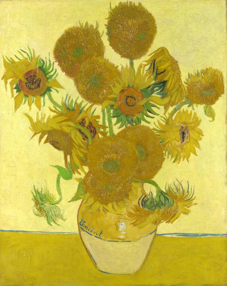Vincent Willem van Gogh, Girasoli, 1889