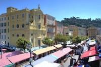Corso Saleya a Nizza - Foto: © A. Issock, OTC Nice