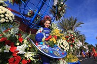 Battaglia dei fiori al Carnevale di Nizza - Foto: © J. Kelagopianf, OTC Nice