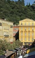Corso Saleya e palazzo Lascaris a Nizza - Foto: © A. Issock, OTC Nice