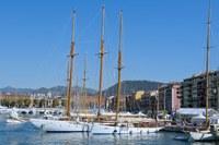 Barche agli ormeggi nel porto di Nizza - Foto: © OTC Nice